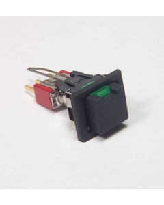 C & K Components - 8161-J86-C-G-226 - Switch, P/B latching. SPDT. Package of 2.
