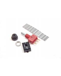 ITT - Cannon - C & K Components - E107SYCQ - Switch, toggle. SPDT 7.5Amp 125VAC.