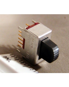 TYCO -  6-1437576-8 - ALCO ELECTRIC - MSS4200EG - Switch, slide. 4PDT. Gold Contacts, 125 VAC, 3A,