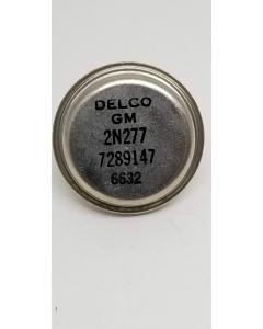 GM/DELCO - 2N277 - Transistors, Bipolar PNP. 40V 170 watt at 25degC. w/Hardware and Insulator Kit.