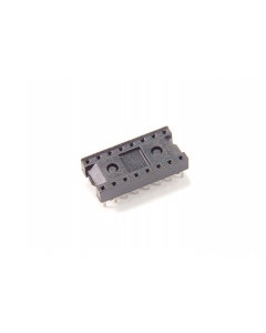 SCANBE - 70616-12-US2-16-110NB - Connector, IC socket. 16 Dip. Package of 25.
