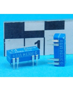 GI/CLARE - PRMA1C12 - Relay, reed. Contactor: 100VDC/100VAC