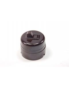 Leviton - 1210 SP - Switch, Toggle. AC/DC Surface Mount, SPST, 10A/125VAC, 5A/250VAC,  Vintage.