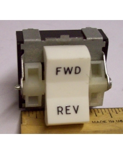Cutler-Hammer / Eaton  - 8130K20J15V51 - 3 Position DPDT On/Off/On Motor Reversing Rocker Switch 6A 125 VAC