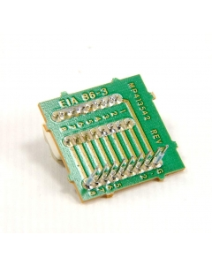 EECO - EIA86-3 - Switch, dip. 8 Position assembly. Package of 10.