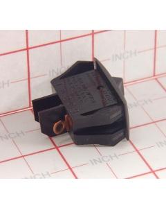 Carlingswitch - 3-614 - RA911-RB-B-0-N - Switch, Rocker. SPDT 16A 125V. Black.