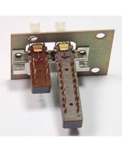 ITT Schadow - 3-621 - Switch, Push Button Latching. 6PDT + DPDT.