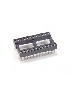 Burndy - DILB24P-11T - Connector, IC socket. 24 Dip. Package of 20.