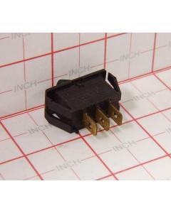Chicago Switch - 3-673 - Switch, Rocker. SPDT 10Amp 125VAC. 28v lamp Illuminated.