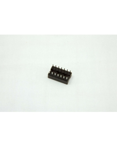 AMP INC - 2-641599-3 - Connector, IC socket. 14 Dip. Package of 30.
