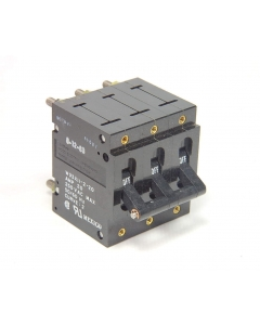 Potter & Brumfield - W93X11-2-20 - 3-Pole 20Amp 250Vac Circuit Breakers