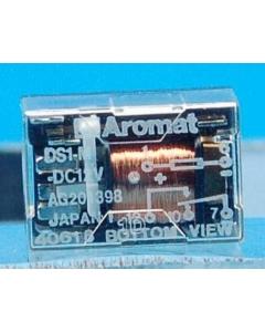 AROMAT - DS1MDC12V - Relay, control. SPDT 2Amp 12V.