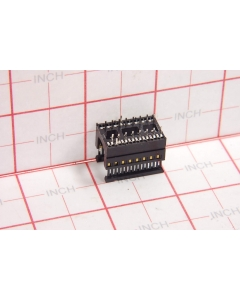 T&B/ANSLEY - PDS-16 - Connectors, IC sockets. 16 Dip piggy back.