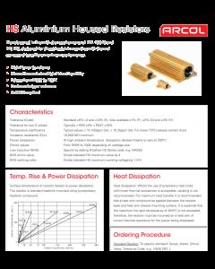 Arcol - HS25/22R F - Resistor 22 Ohm 25W.