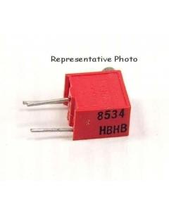 BOURNS - RJR26FP101R - Resistor, cermet. Resistance: 100 Ohm.