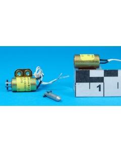 """GUARDIAN - A420-060997-00 - 24VDC solenoid 1/2"""" Dia x 1"""" Long - Tiny !"""