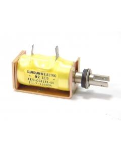 GUARDIAN - A420-064181-00 - Solenoid, DC. Coil: 24VDC 0.3A 77 Ohms.