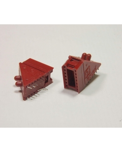 AIRES - 4-219 - Connector, socket. RA 14 Dip.