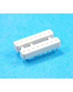 Amp Inc - 4-232 - Connector, IC socket. 16 Dip. Package of 10.