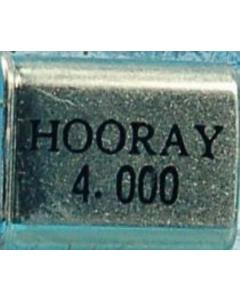 Hooray - 4.00MHz - Crystal. 4.00MHz.