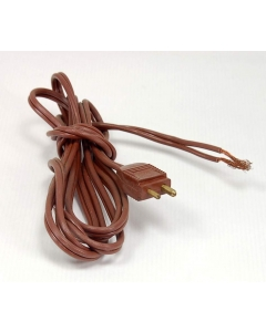 UNMARKED - 5-131 - Power cord. 2 conductor 18AWG, 5 feet