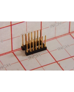 AUGAT - 814AG10F2 - IC socket. Dip 14 pin WW.
