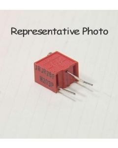 BOURNS - RJR26FW201R - Resistor, cermet. Resistance: 200 Ohm.