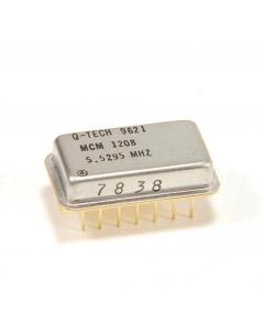 Q-TECH - MCM1208 5.5295 MHZ - Crystal oscillator. 5.5295MHz.