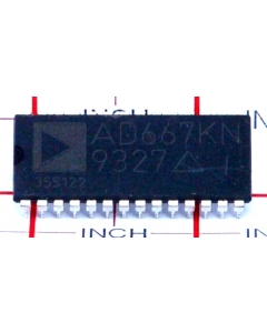 Analog Devices Inc - AD667KN - IC, digital to analog converter (DAC). 12-bit.