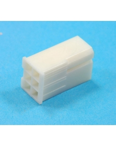 Unidentified MFG - 4-454 - Connector, header. Molex type, Female 6 position (3 x 2).