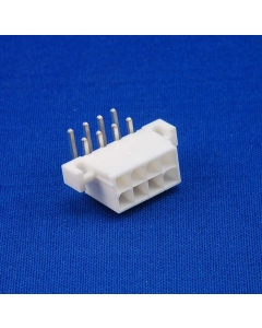 GOULD - 71-8569 - Connector, header. Male 8 position. Molex.
