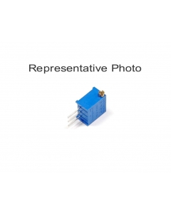 BOURNS - 3299X-1-100 - Resistor, trimpot. 10 Ohm. Package of 5.