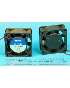 NIDEC-TORIN - TA225DC A32313-16 - Fan, axial. 12VDC 0.07A. Used.