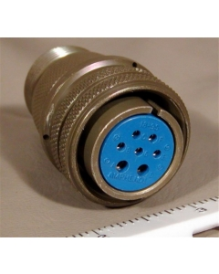 Amphenol - MS3106A18-9S - Connector, circular. Female 7 position. Cable. New.