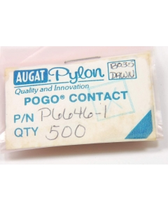 AUGAT - P6646-1 - Electrical contacts. Pogo. Package of 10.