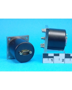 Relcomm/Lucent - RMM-SR001 - Relay, coax. Coil: 24VDC.