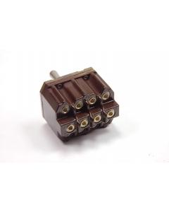 CUTLER-HAMMER - 8512K15 - Switch, toggle. 4PDT 15A 115V.