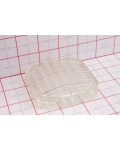 "Unidentified MFG - 5-144-2 - Reflector. 3"" square Clear"