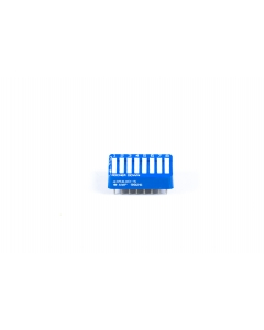 AMP INC - 435640-5 - Switch, dip. Contacts: SPST 8P.