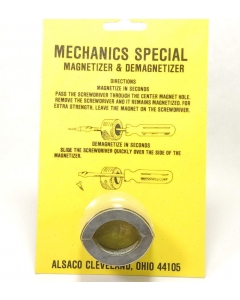 ALSACO - 5-211-2 - Magnetizer and Demagnetizer.