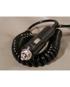 SAM WOO - SW-1002 - Cigarette Lighter Plug, 12 VDC, 2 Amp, Coiled Stretch Cord.