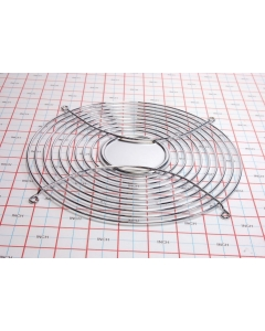 """Unidentified MFG - 08127B - Finger guard for 10"""" round fans."""