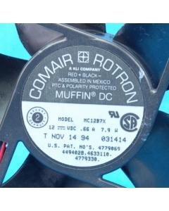 COMAIR ROTRON - MC12B7X - 12VDC 5-Blade 120mm MUFFIN - Used