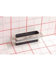 Souriau - 8656-25PTX - Connector, D-Sub. Mle DB25 shell, no pins.
