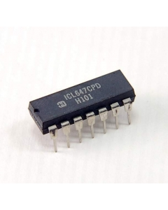 Harris Corp - ICL647CPD - IC. Low voltage 5V step-up DC-DC converter.