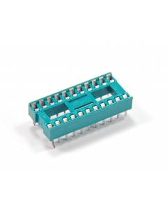 EMC - 26422-51-517 - Connector, IC socket. 22 Dip, low profile. Package of 18.