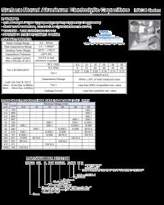 NIPPON CHEMI-CON - NACE220M16V5X5.5TR13 - Capacitor, electrolytic. 22uF 16V. SMD.