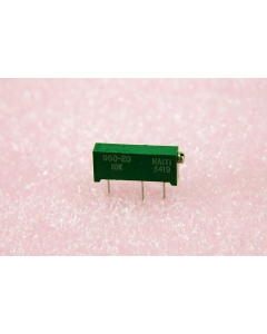 VRN International - 960-2000 - Resistor, trimming. 10K Ohm 0.75W.