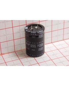 NIPPON CHEMI-CON - CAP250 - Capacitors, electrolytic. 560uF 400VDC.