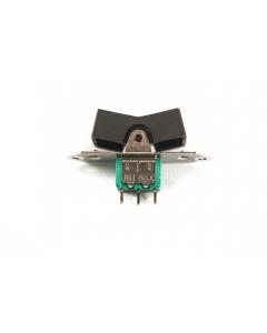 JBT - MR3-127 - Switch, rocker. Contacts: SPDT 6Amp 125VAC.